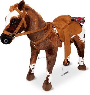 Cowboypferd stehend