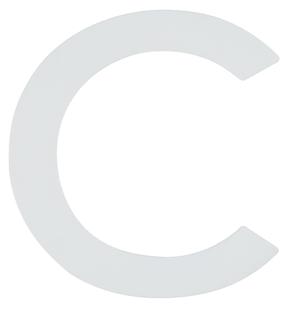Buchstaben  Nachtleuchtend c