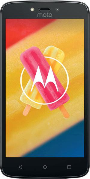 Moto C Plus Dual SIM 16GB Metallic Cherry
