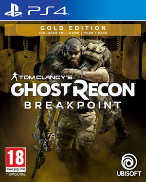 PS4 - Tom Clancy's Ghost Recon: Breakpoint - Gold Edition