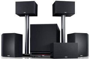 System 6 THX 5.1-Set - Schwarz