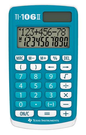 TI-106 II Schulrechner