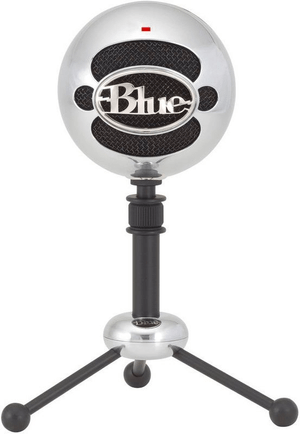 Snowball Microphone USB brushed Aluminium