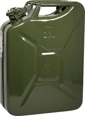 Bidone metallico 20L