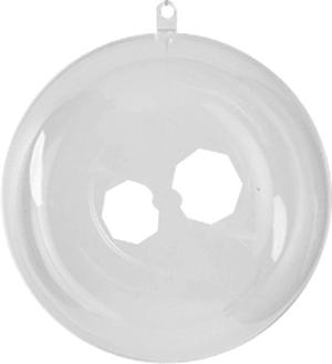 Boule en plastique 12cm 1 p.