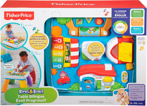 Table bilingue Eveil progressif Fisher-Price