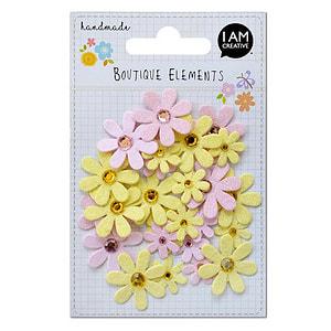 Glitter Blume 32 Stk.