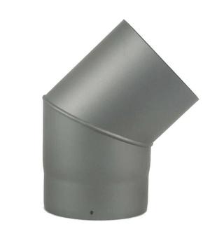 Bogen 45°, ohne Putzdeckel