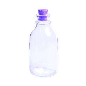Glas mit Korkzapfen