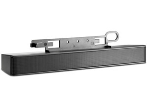 LCD-Lautsprecher-Halterung schwarz