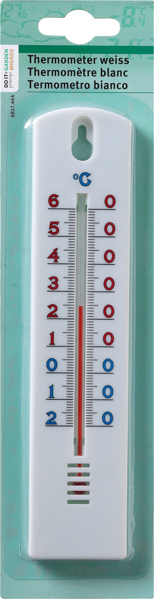 Thermometer weiss
