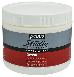 Arcylics Gesso weiss