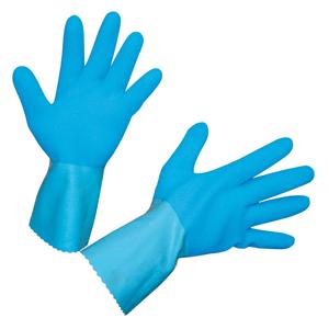 Latexhandschuh blau, Gr. 10