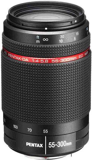 HD DA 55-300mm/4,0-5,8 ED WR