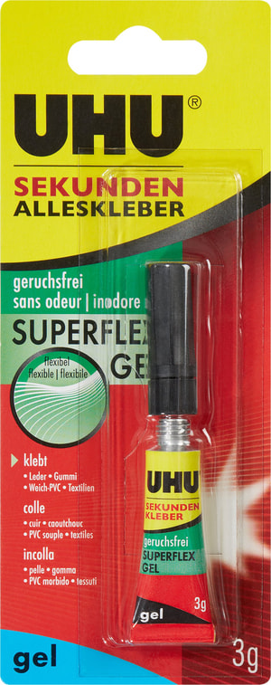 Colle universelle instantanée inodore Superflex