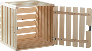 Harasses en bois avec porte A1/2