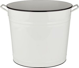 Vaschetta rotonda con maniglie