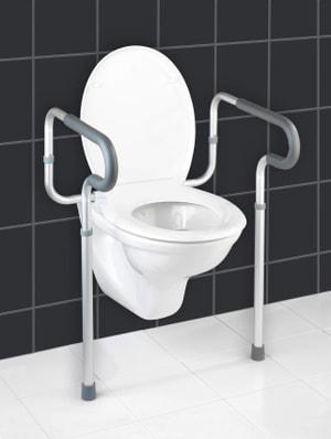 WC-Stützhilfe Secura weiss alu