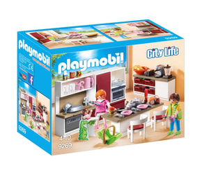 Playmobil Große Familienküche