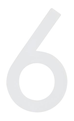 Hausnummer  Nachtleuchtend 6