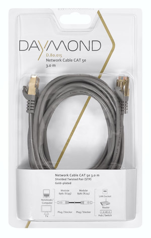 D.80.015 3m Netzwerkkabel