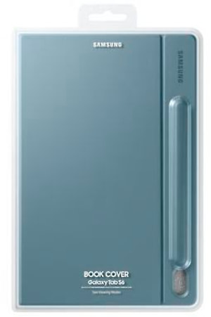 Book Cover Galaxy Tab S6 bleu