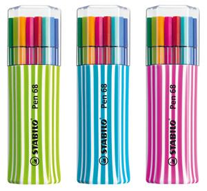 Pennarello Premium STABILO® Pen 68, 15 pennarelli
