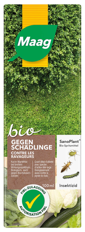 SanoPlant Bio-Spritzmittel gegen Schädlinge