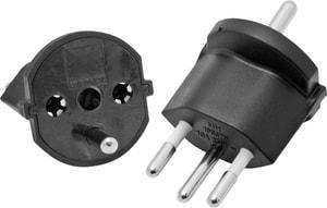 Fix-Adapter T12/Schuko