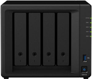DiskStation DS418 NAS Leergehäuse