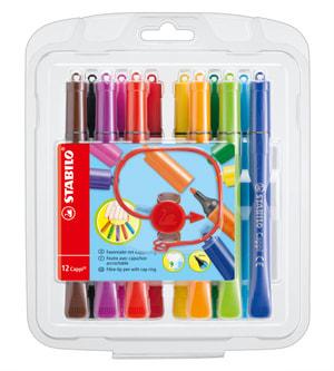Pennarello STABILO® Cappi®, 12 pennarelli