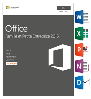 Office Famille & Petite Entreprise 2016 Mac (F)