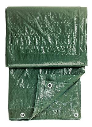 Bâche en tissu avec oeillets
