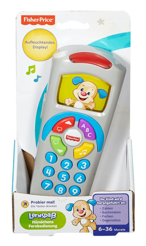 Fisher-Price Lernspass Fernbedienung (D)