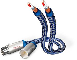 Premium Audio XLR 1,5 m - Bleu/Argent