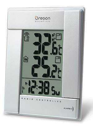 L-Oregon Scientific RMR382 Thermometer