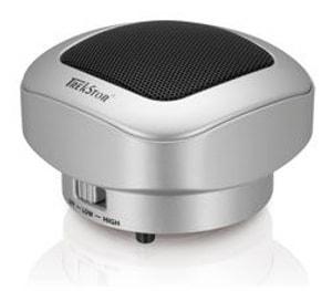 L- A Trekstor Portable SoundBox silver