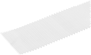 Lamiera stirata 1.6 x 120 mm naturale 1 m