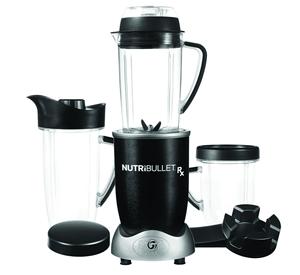 Nutribullet RX schwarz 1700W - 10-teilig