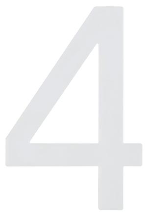 Hausnummer  Nachtleuchtend 4