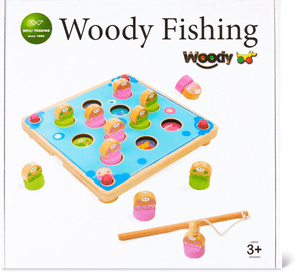 Woody Memory Fishing Game