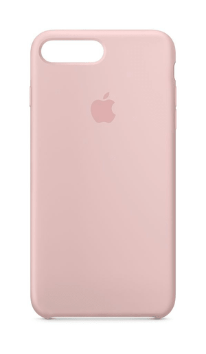 iPhone 8 plus & 7 plus coque en silicone rose des sables
