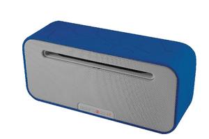 Studio Bluetooth Lautsprecher blau