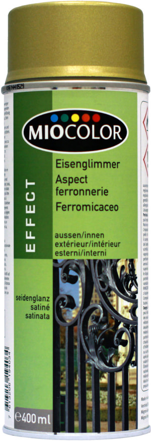 Aspect ferronnerie Spray