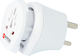 Combo Travel Adapter India & Europe