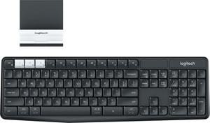 Multi-Device Tastatur K375s kabellos mit Halterung