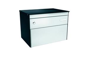 Cassetta dellapost s:box 13 s:box 13 antracite/alluminio