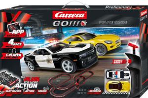 Police Chase Carrera Go! Plus 2 voitures de course incluses
