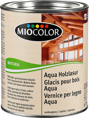 Aqua Holzlasur Kirschbaum 750 ml