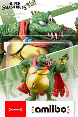 amiibo King K. Rool Super Smash Bros. Collection